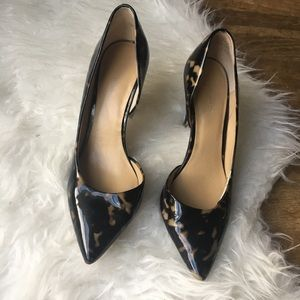 Ann Taylor Leopard Print Heels | Size 8